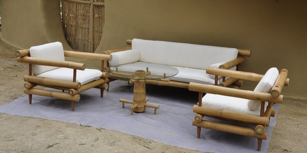 Bamboo Sofa Set Latest Design 2018 2019 Cozy Sofa In 2020