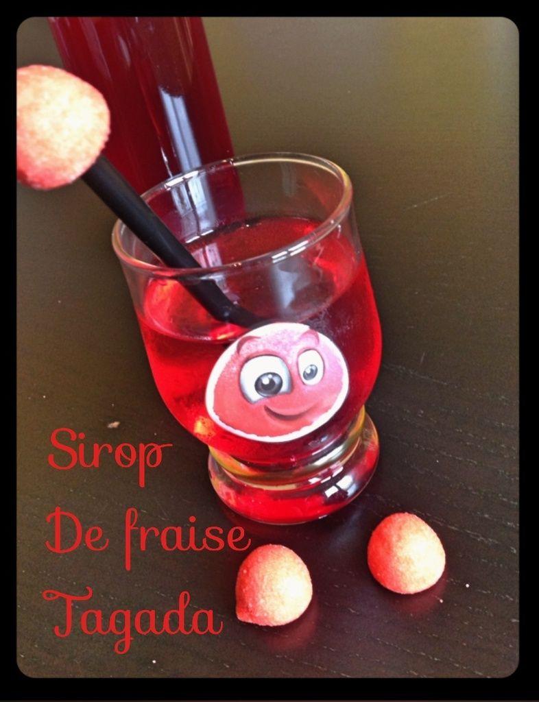 Sirop De Fraise Tagada Au Thermomix Thermomix Pinterest