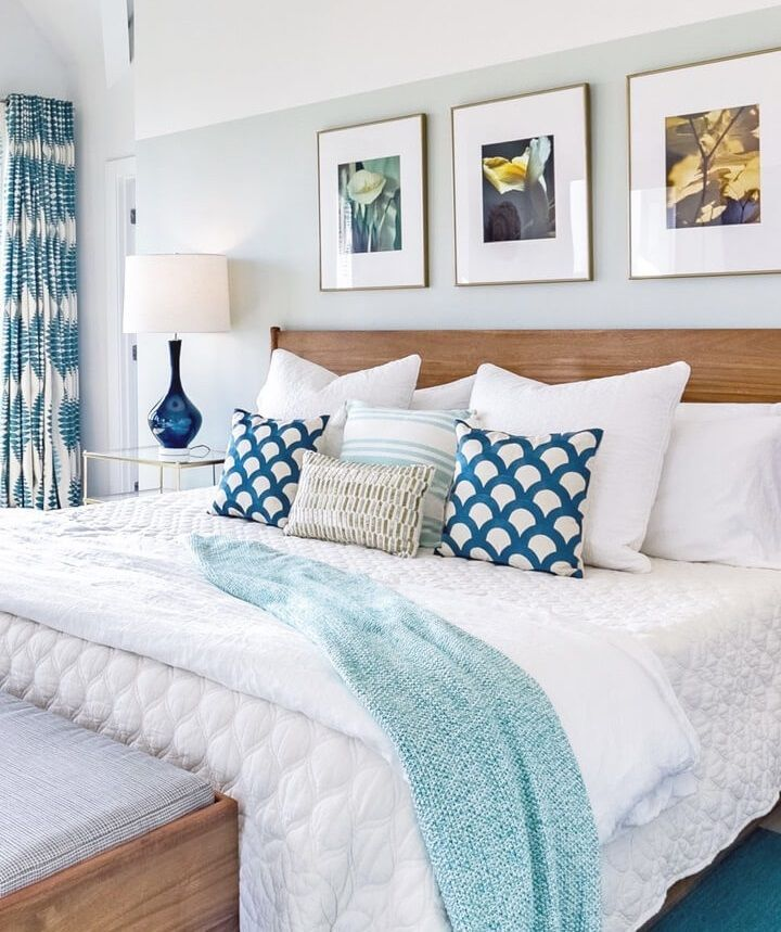 Photo of Beach House Master Bedroom Ideas at #SugarsBeach Get beach decor master bedroom …