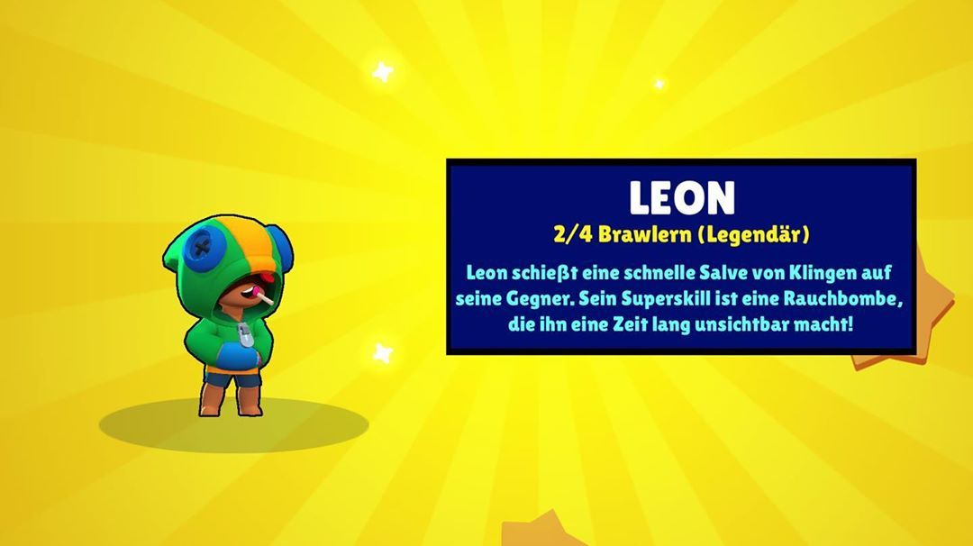 Ich Hab Leon Gezogen Leon Brawlstars Legendarerbrawler Hacks Rainbow Flat Screen