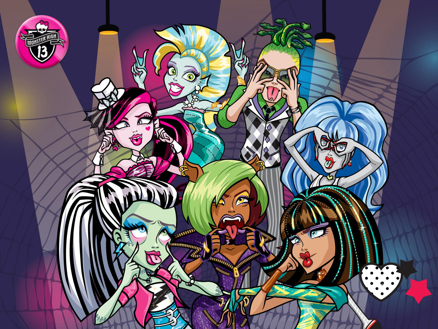 Fondos De Pantalla De Monster High: Monster High Wallpaper