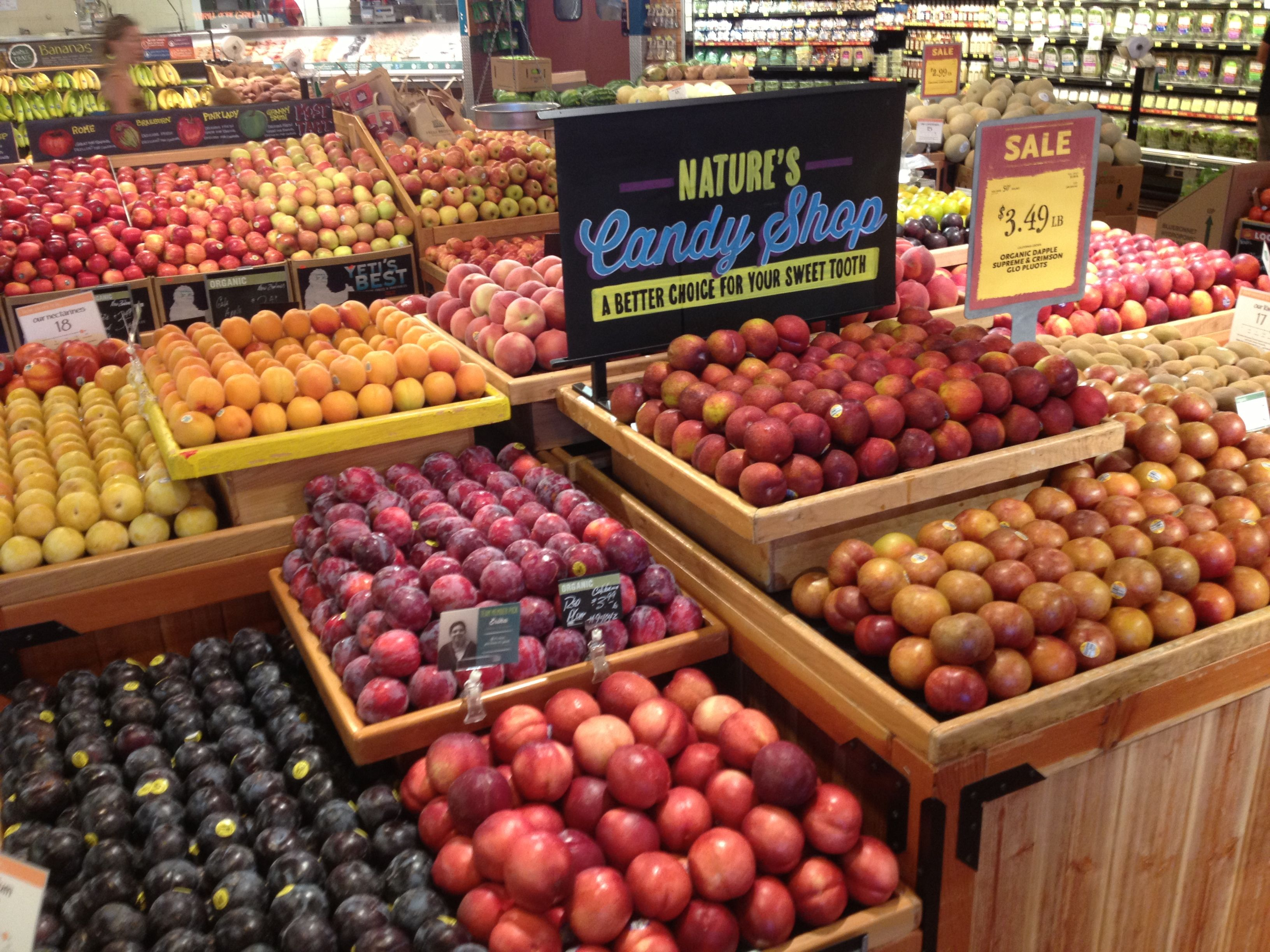 Soft Fruit WFM SW | Produce display | Pinterest