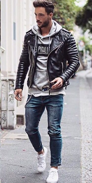 Casual Style Herren Frisur