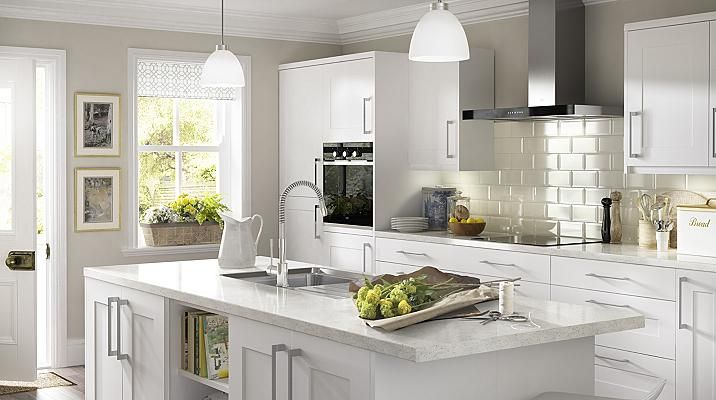 White Clic Style Kitchen Cabinet Doors Fronts Kitchens