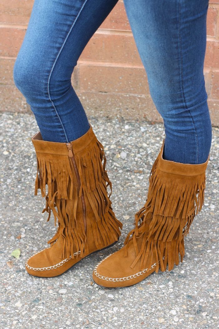 Fringe Boot in Camel | Christmas list | Pinterest | Prodotti di ...