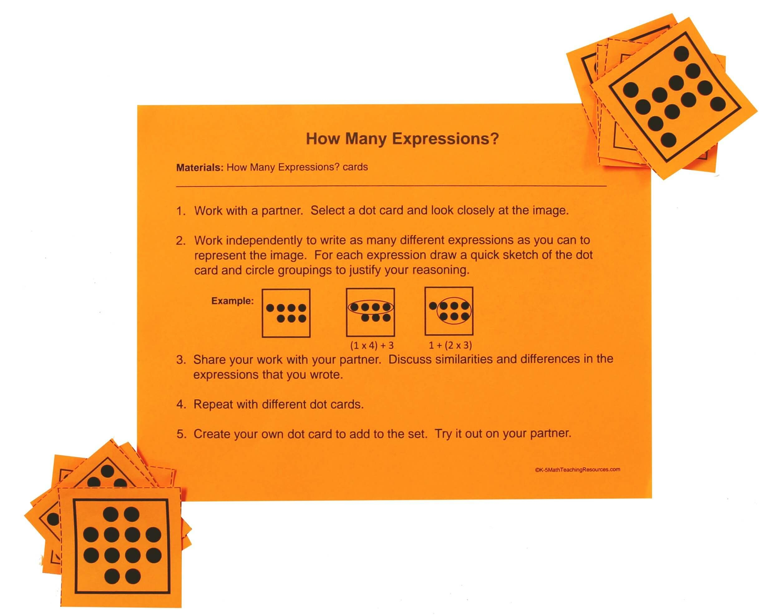 5th Grade Number 5th Grade Math Free Math Centers Evaluating Expressions [ 1970 x 2436 Pixel ]