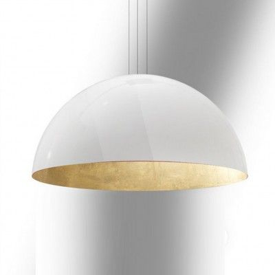 grote witte koepel hanglamp acrylaat inrichting pinterest