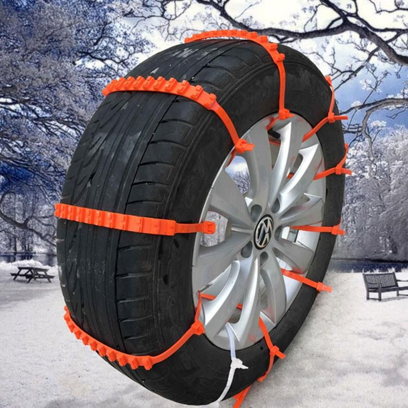 10pcs set car universal mini plastic winter tyres wheels snow chains for cars suv car styling. Black Bedroom Furniture Sets. Home Design Ideas