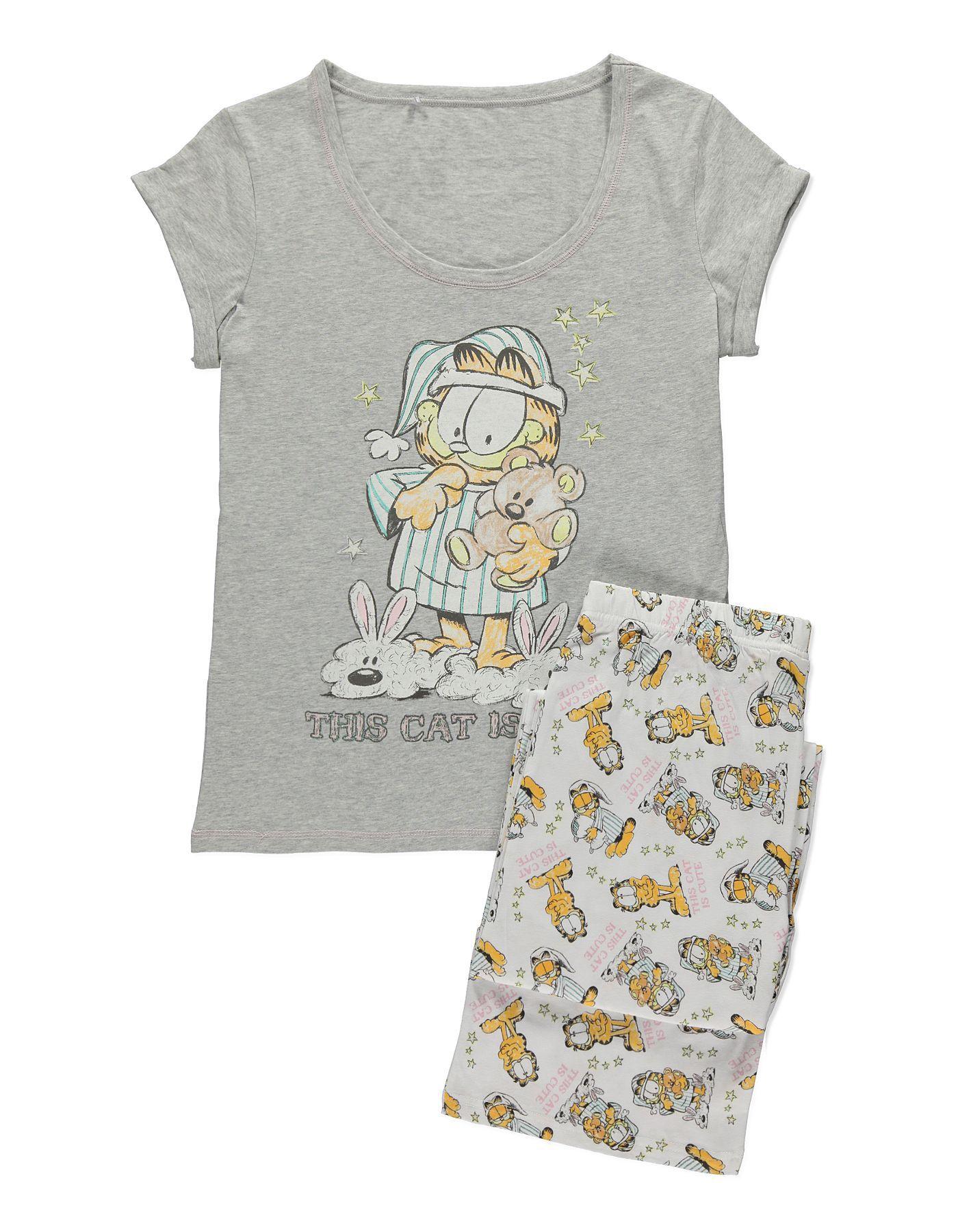 b29ceb6509 Garfield Pyjamas | Women | George at ASDA | PJs in 2019 | Pyjamas ...