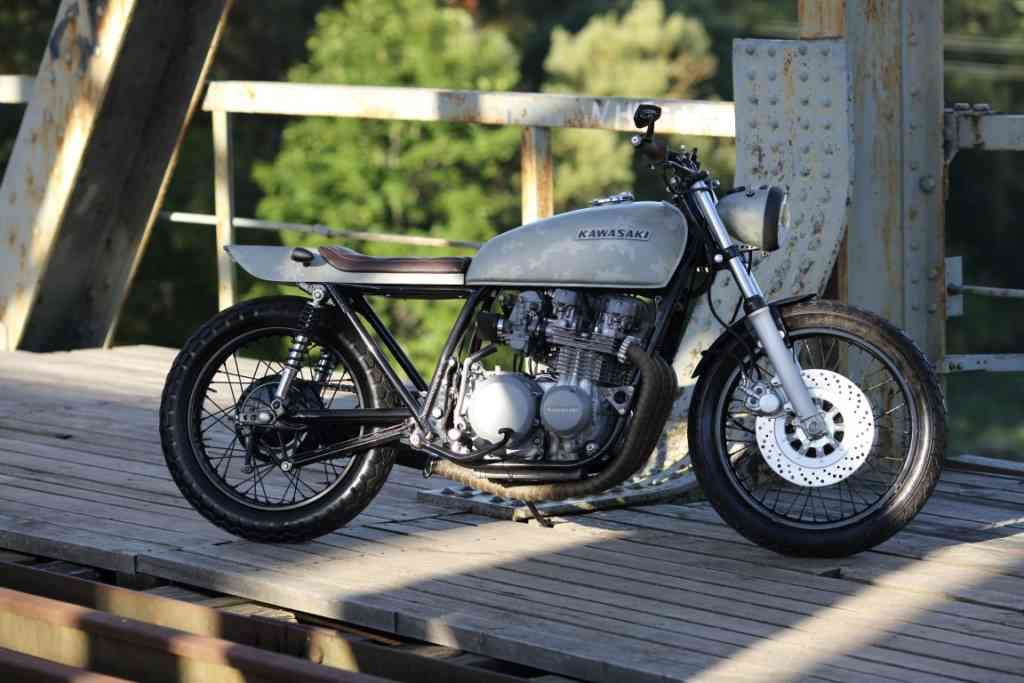 Kawasaki Z650 Cafe Racer For Sale Great Condition Bike Is Ready Ride