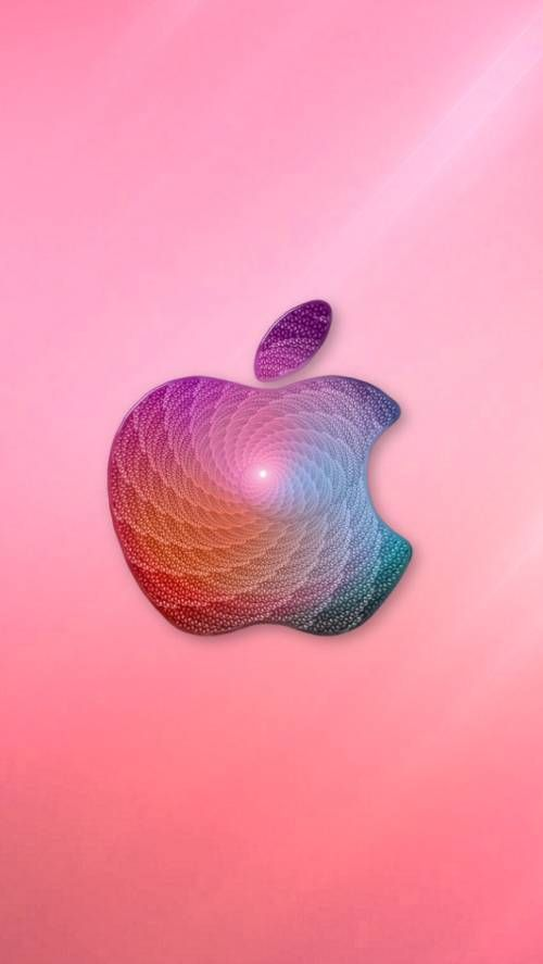 Make Mine Pink Apple Logo Wallpaper Apple Wallpaper Apple Iphone Wallpaper Hd