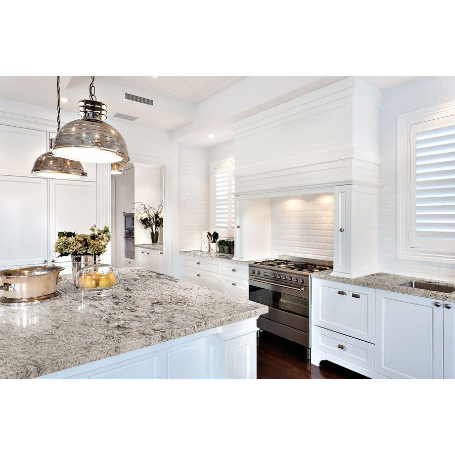 SenSa Tangier Granite Kitchen Countertop Sample at Lowes ...
