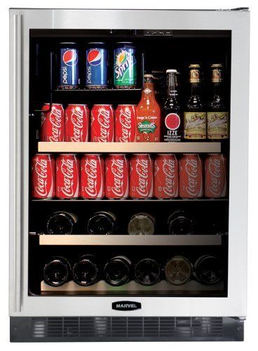 Pin By Danielle Hauck On Dining Room Beverage Refrigerator Beverage Center Glass Door