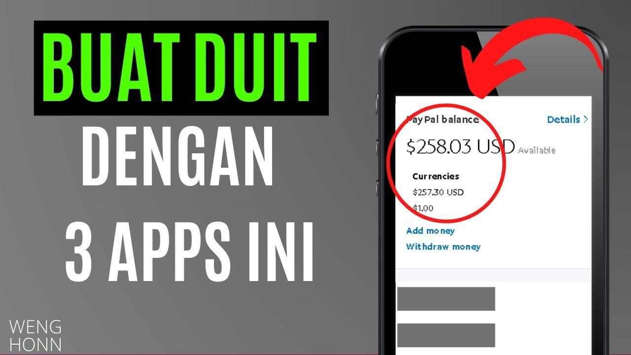Top 3 Aplikasi Buat Duit Malaysia Edisi 2020 Dowload Game Buat Revi Belajar Aplikasi Malaysia