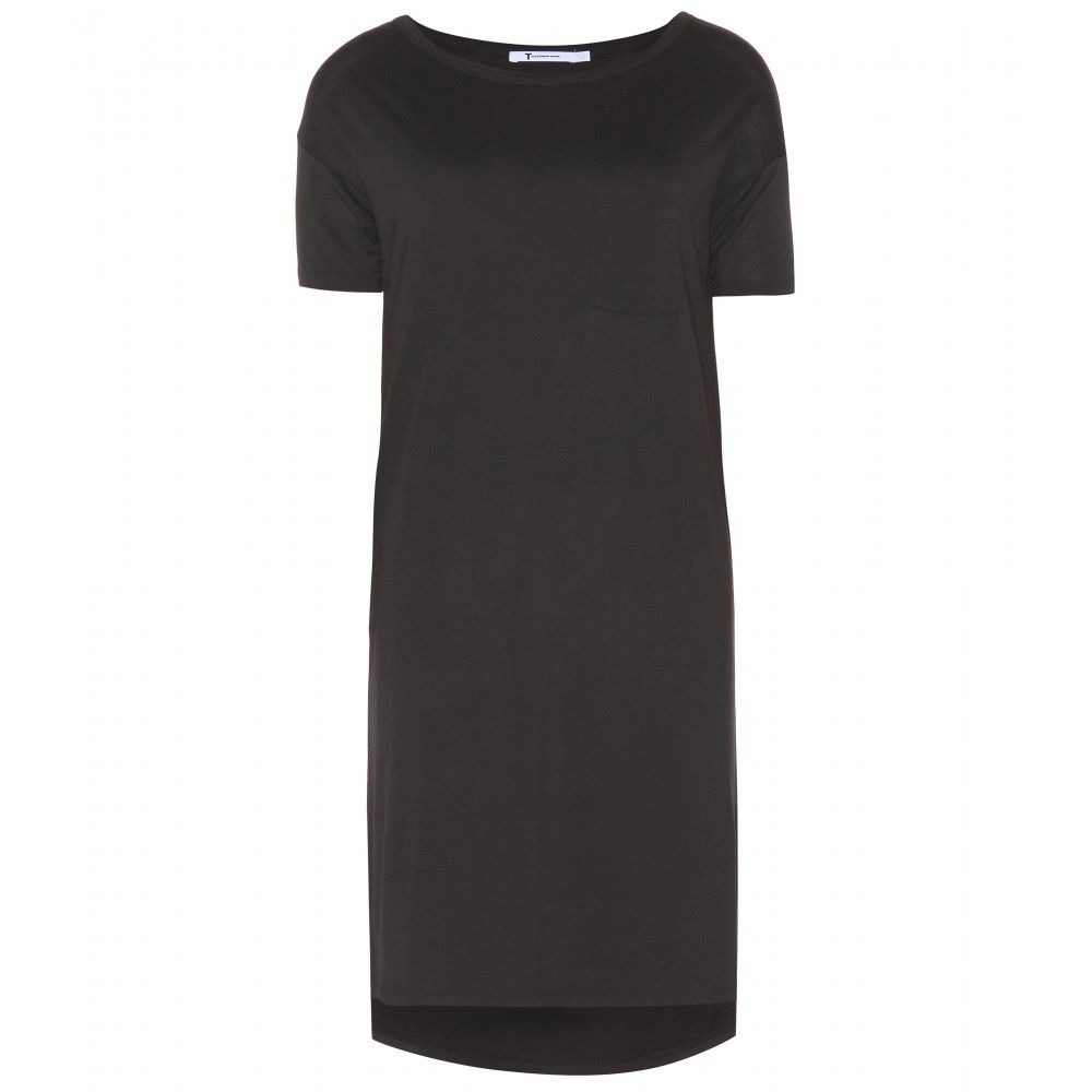 mytheresa.com - Classic jersey T-shirt dress - Short - Dresses - Clothing - T by Alexander Wang - Luxury Fashion for Women / Designer clothing, shoes, bags
