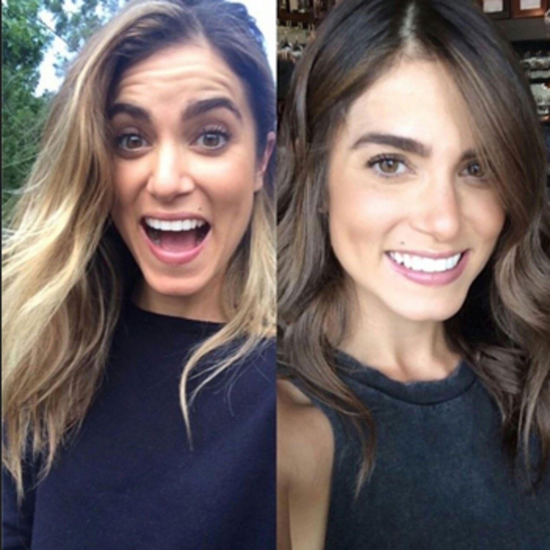 Behold The Latest Celebrity To Go Brunette Blonde Vs Brunette