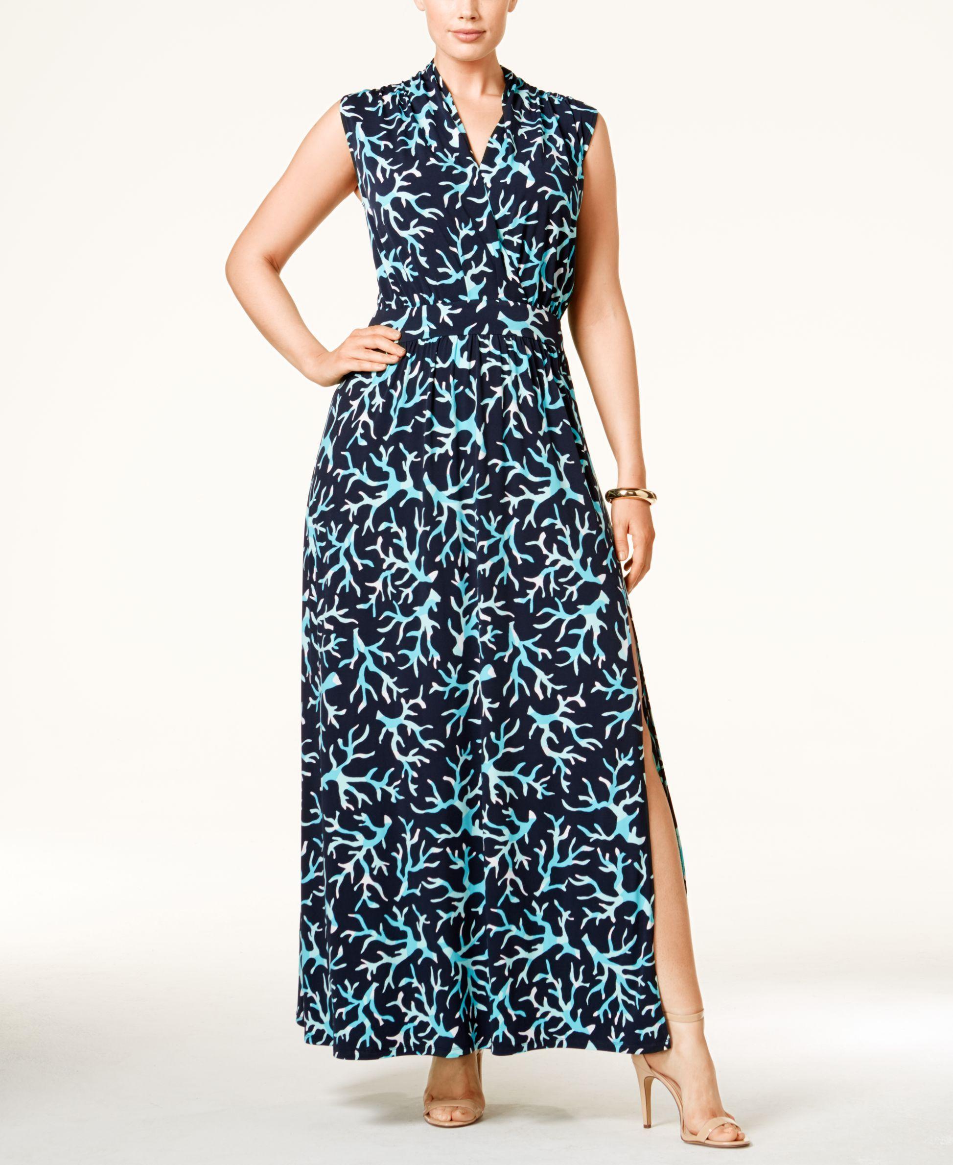 Trixxi juniorsu printed latticeback maxi dress products