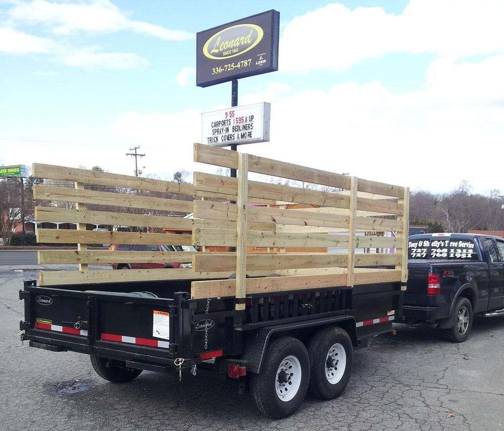 Dump trailers leonard buildings truck accessories