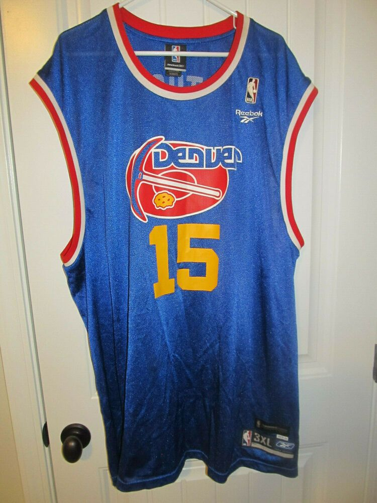 the best attitude 20a97 2a136 Carmelo Anthony - Denver Nuggets Retro jersey - Reebok Adult ...