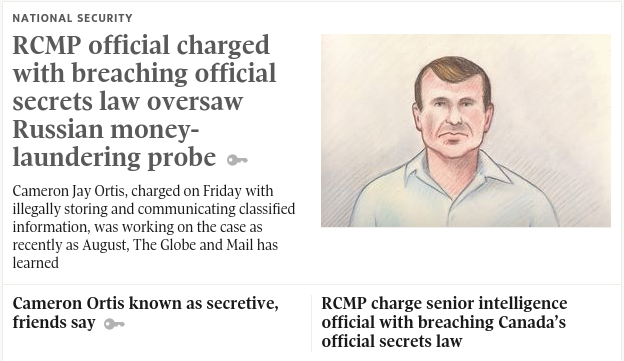 RCMP official charged with breaching official secrets law oversaw ...