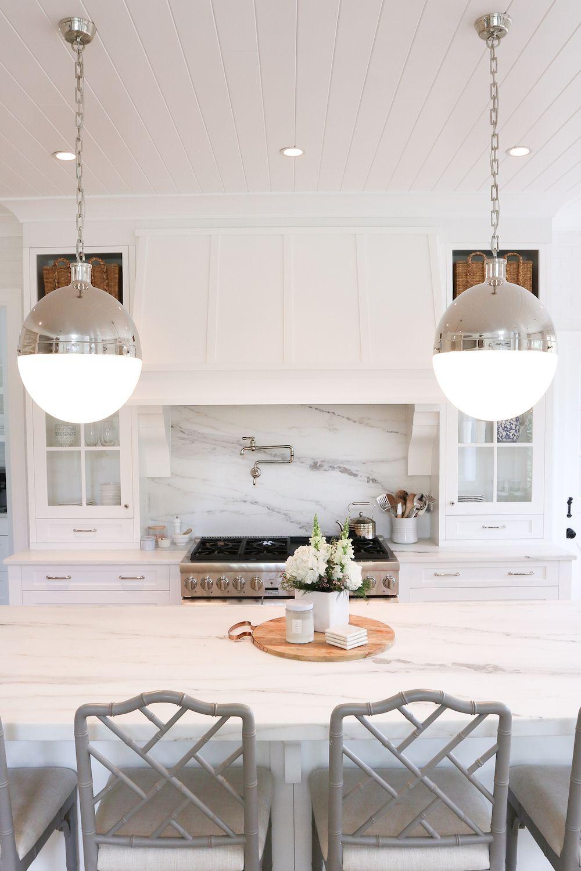 Kitchen inspiration via monika hibbs hicks extra large pendants by