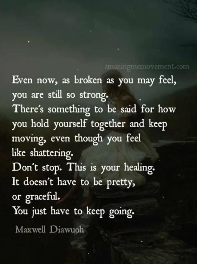 15 Deep Healing Quotes For Your Broken Heart