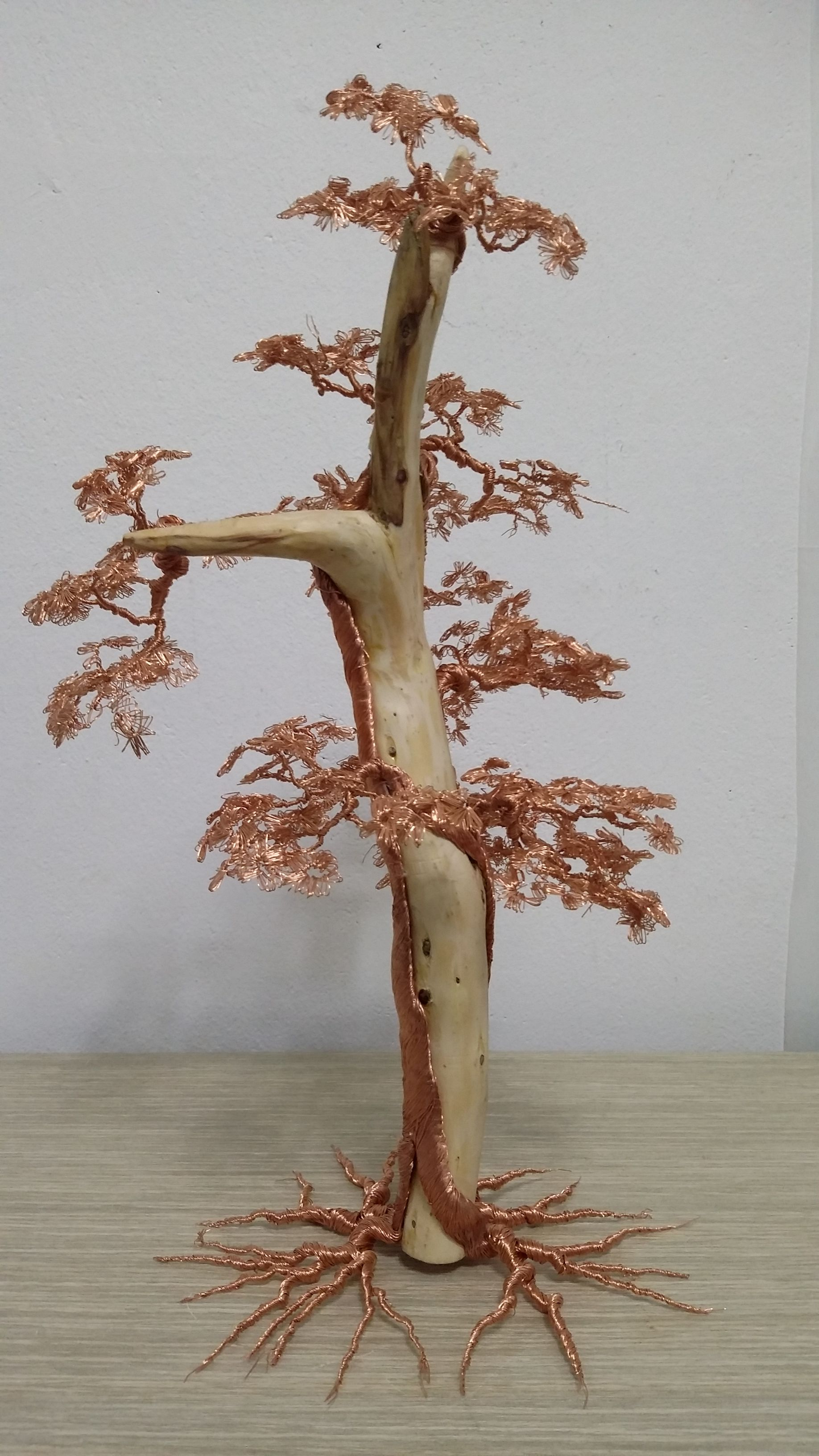 Impressively Complex Wire Trees | Wire trees, Wire art and Craft