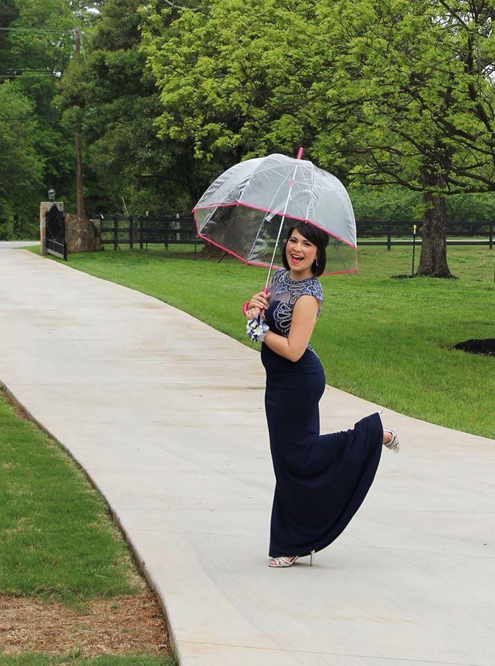 Bubble umbrellas make the rain look good in prom pictures prom bubble umbrellas make the rain look good in prom pictures ccuart Image collections