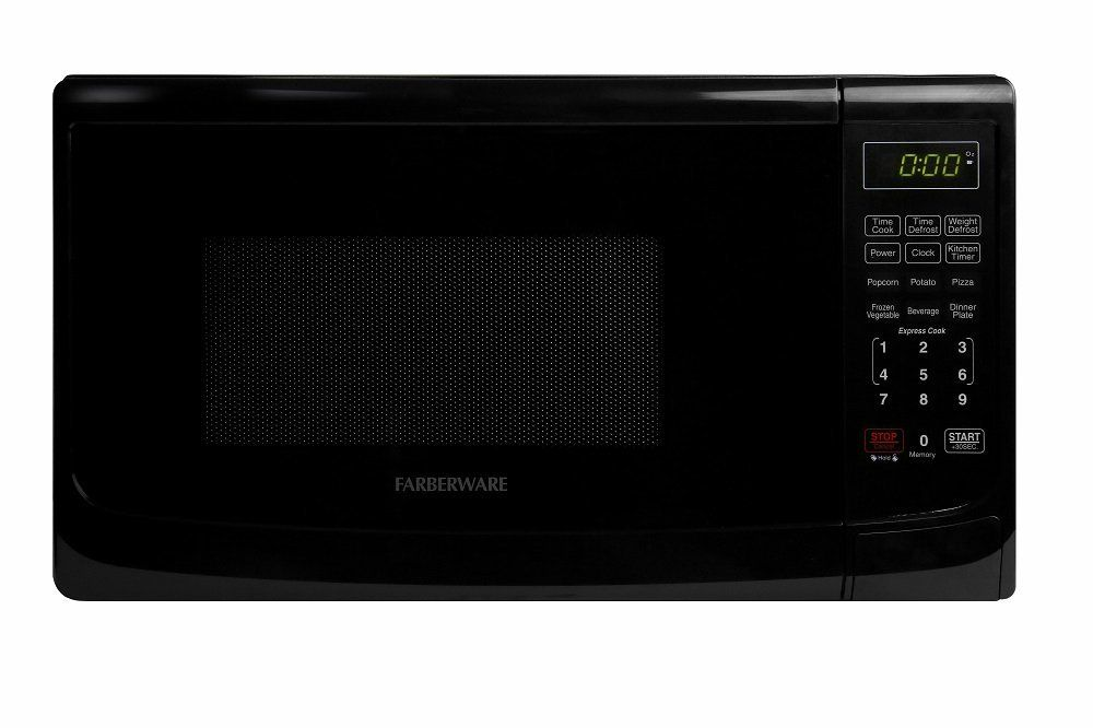 Comfee Em720cpl Pmb Countertop Microwave Oven With Sound On Off Eco Mode And Easy One Touch Buttons 0 7cu Ft 700w Black Best Countertop Microwave Countertop Microwave Oven Countertop Microwave