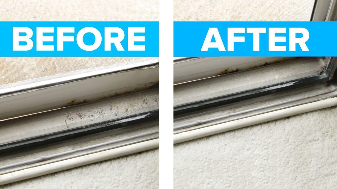 Easy Sliding Door & Window Track Cleaner YouTube
