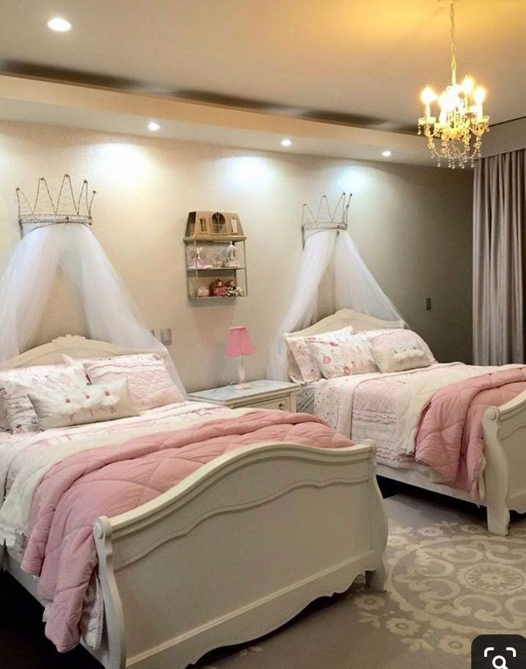 30+ Impressive Girls Bedroom Ideas With Princess Themed ...