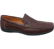Deichmann Memphis One Casual Slip on Shoes brown New