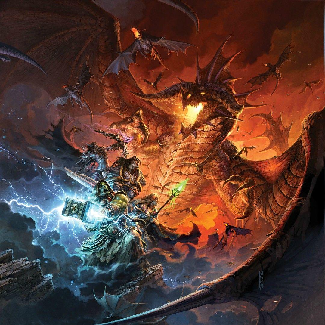 Scan Manga Warcraft: Illustration De Raymond Swanland