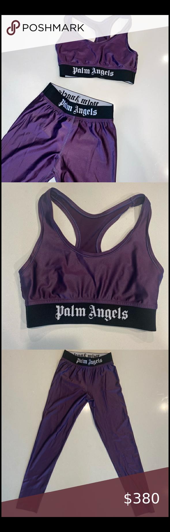 palm angels tracksuit purple