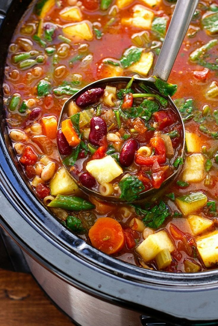 15 Easy Slow Cooker Soups for Fall