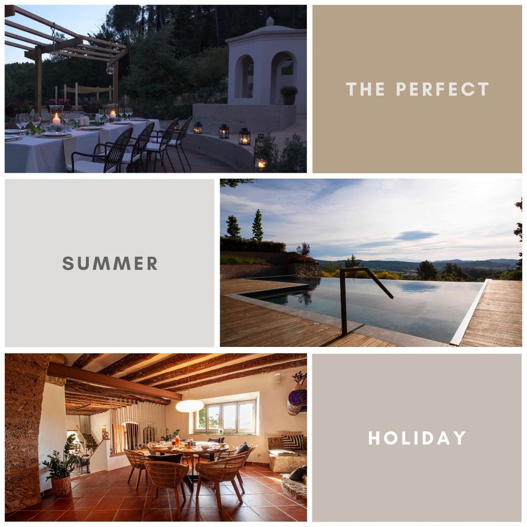 Need to relax this #holiday? We have the perfect place for you.  Can Vital is situated close to #Barcelona and #Sitges, in #Spain. Views of Montserrat and surrounded by vineyards. Visit our site for special offers  #bcn #sitges #barcelona #SiaSitges #Sitges #catalunyaexperience #bcnmoltmes  @CatalunyaExperience  @sitgesturisme