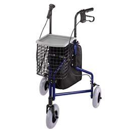 3 Wheeled Rollator - Model 552529 by Rolyn Prest. $245.18. This item may be shipped by freight truck and may cost more or less than the shipping charge shown. For an exact quote, please contact us prior to placing your order.. This item may differ from the image shown. This item may be a replacement or optional part for the image shown, or differ in model, color, etc. Please review the title and features carefully before placing your order.. HCPCS Code: E0143. (SEE AVAILABIL...