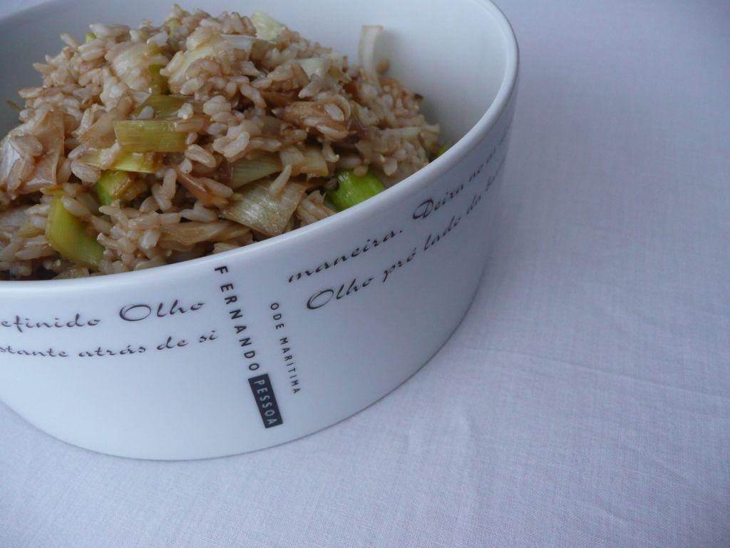 Arroz integral e quinoa deliciosos