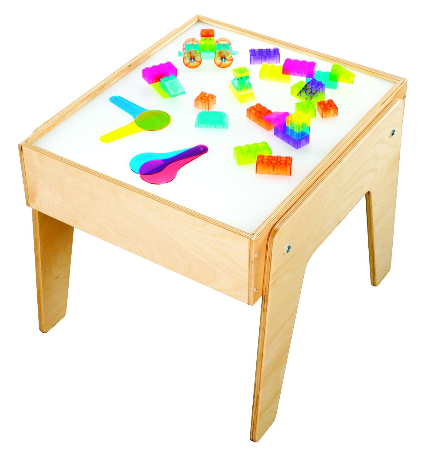Child craft light table - Childcraft Mini Light Table Freestanding Table Fits Where Space Is Limited Table Can Be
