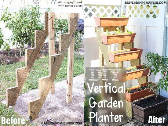 How To Build A Diy Vertical Planter Vertical Planter Vertical
