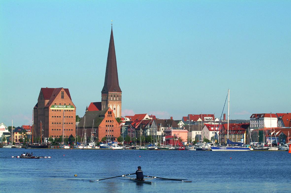 Hansestadt Rostock - Stadtansicht / © Tourismuszentrale Rostock & Warnemünde