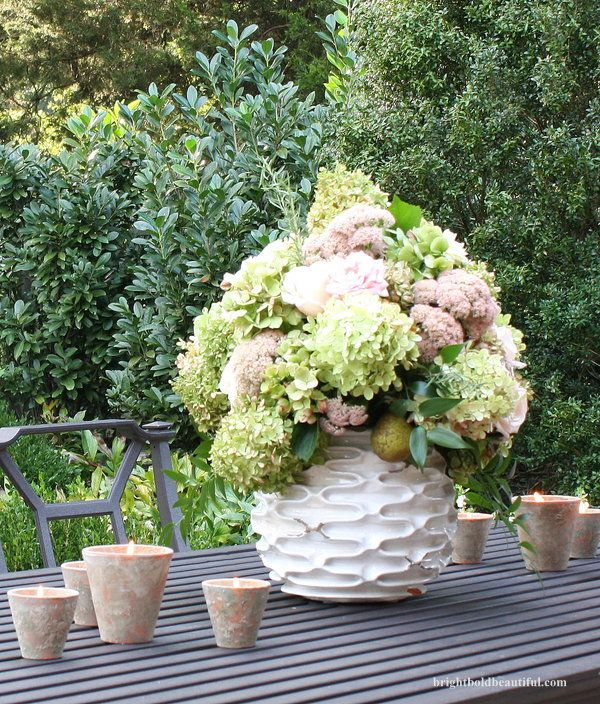 8 Fall Centerpiece Ideas party Pinterest Outdoor parties