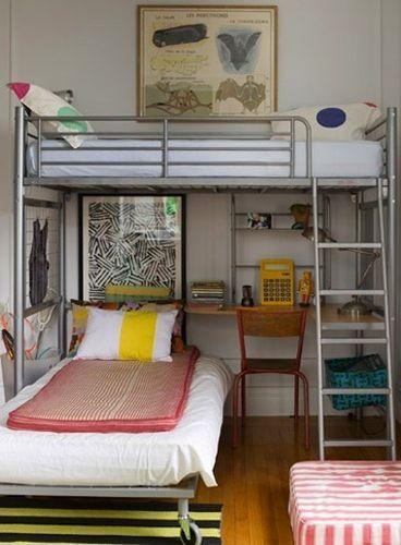 5 Beautiful Bunk Bed Ideas To Make Sleeping More Fun Loft Bunk Beds Bed Design Cool Bunk Beds