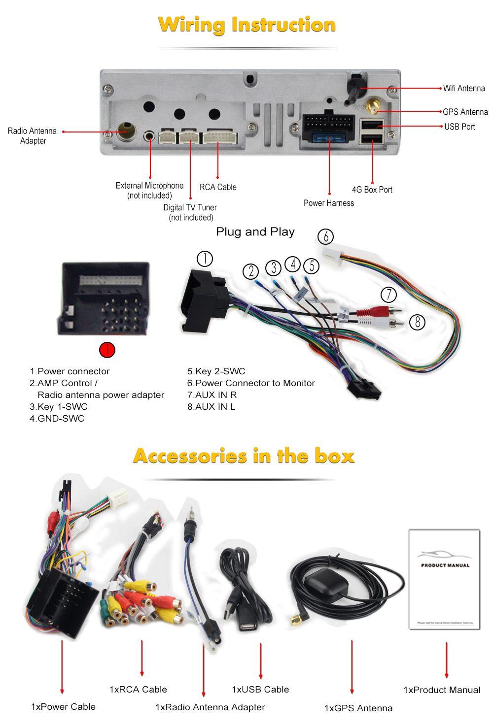 small resolution of 7 android autoradio car multimedia stereo gps navigation dvd radio audio head unit mini cooper r56 2009 2010 2011 2012 2013