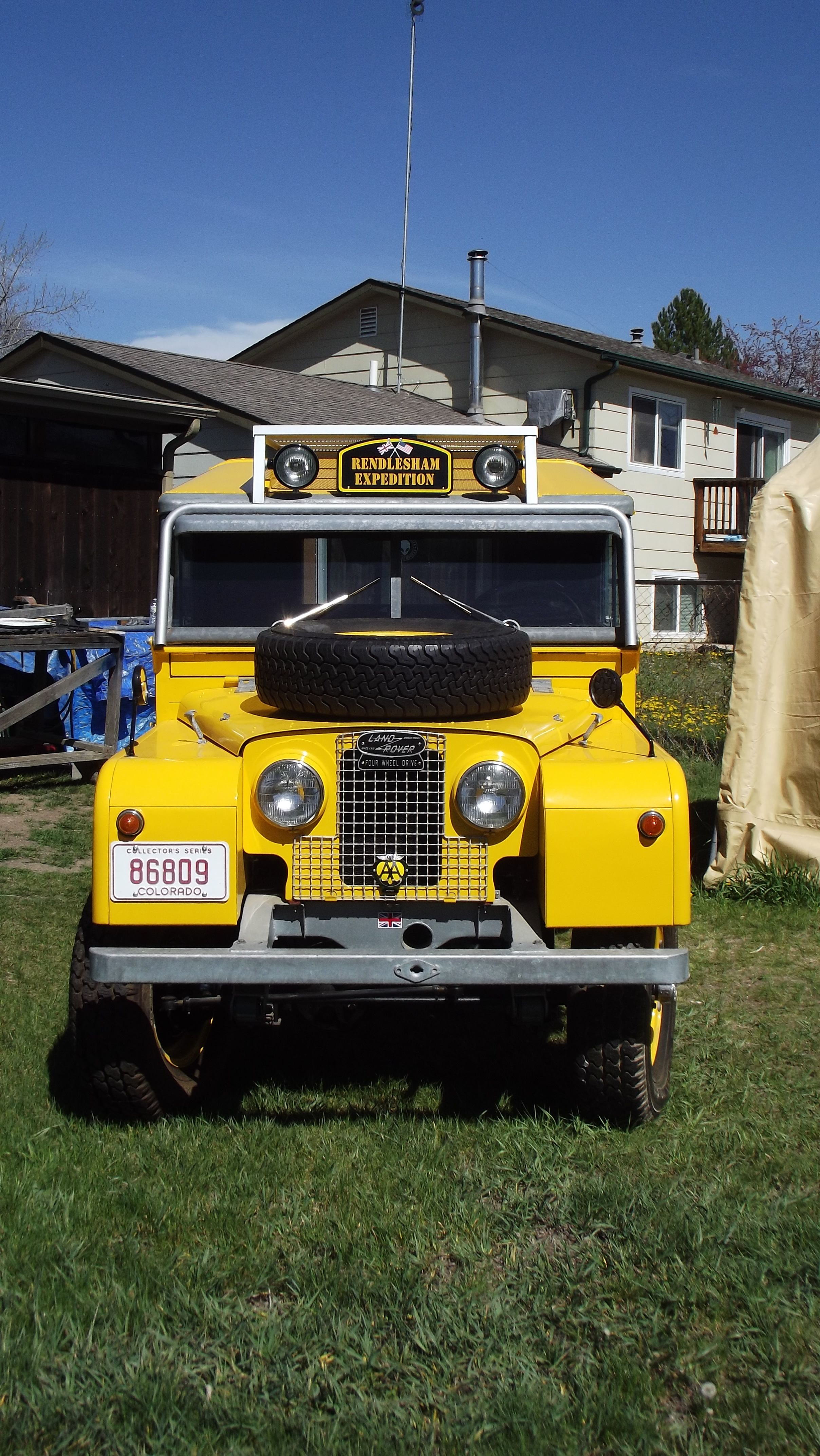 1957 land rover parts