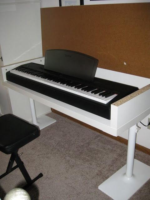 Ein Kleine Lacktmusik Piano Desk Digital Piano Ikea