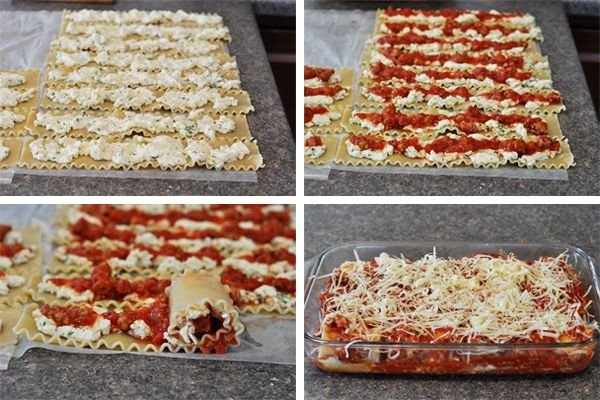 Italian Lasagna Rolls                     Yield: Serves 6-8                    			   			IngredientsMeat Sauce: 1/2 cup chopped yellow or whi...