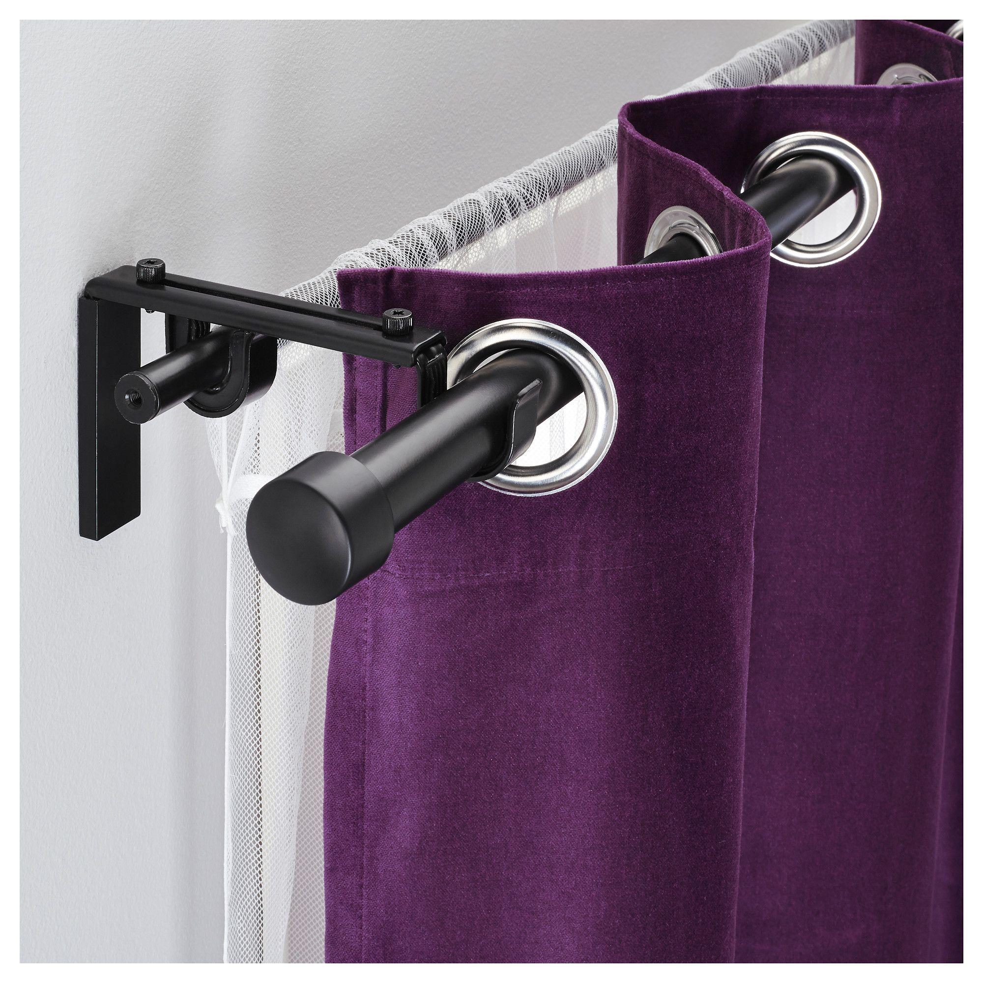 10 Magnetic Curtains Ideas Boho Ideas Double Rod Curtains