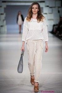 Áeron bemutató a Fashion Week Budapest rendezvényen, a városligeti műjégpályán.