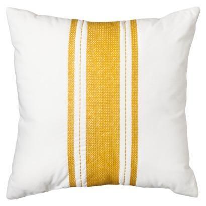 Pillows Threshold Stripe Pillow Gold I Target White Throw Pillow With Gold Stripes Gold And White Throw Pillow Whi Stripe Pillow Target Pillows Pillows